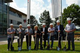 Groundbreaking ceremony for new expansion