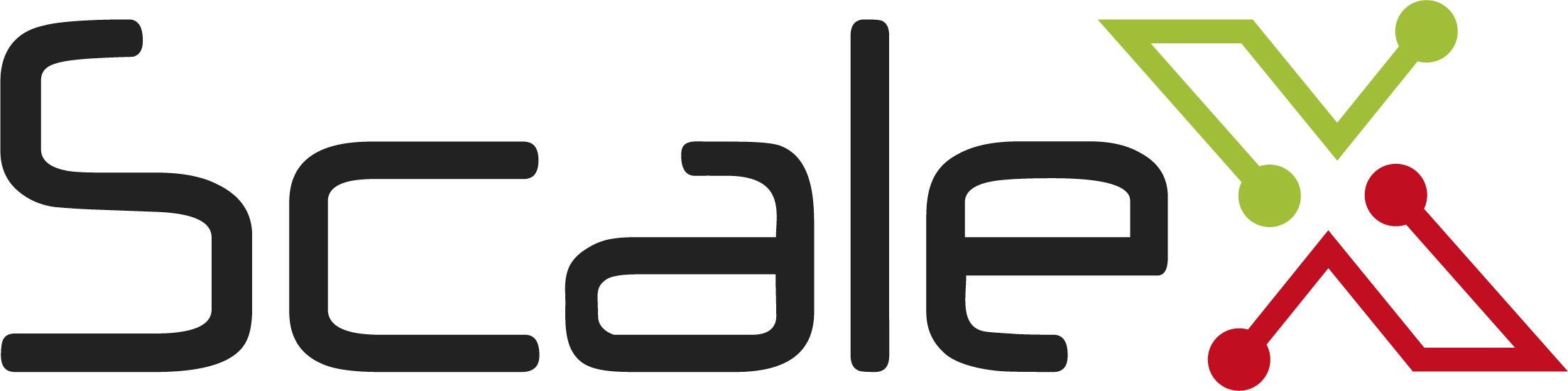 Logo ScaleX rgb
