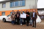 2000 Euros donated to St. Nikolaus Children's Hospice