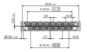 DIN H15 flach FL Zeichnung Abmessungen3 v2