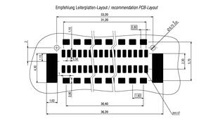 Dimensions Zero8 plug straight shielded 80 pins