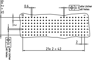 hm AB22 ML Lochbild