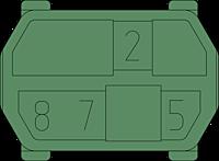 hm Kodiereinsatz ML 2578 Zeichnung