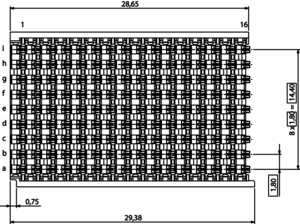 Velox Center dimensions
